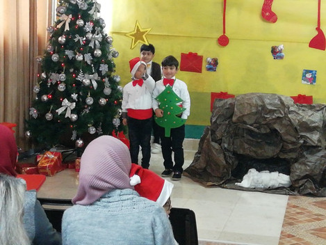 Christmas at Hope school