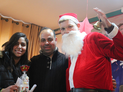 Celebrating Christmas at Hope School