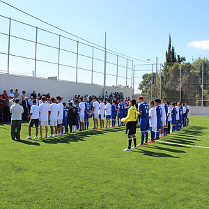 Football Pitch Opening Ceremony