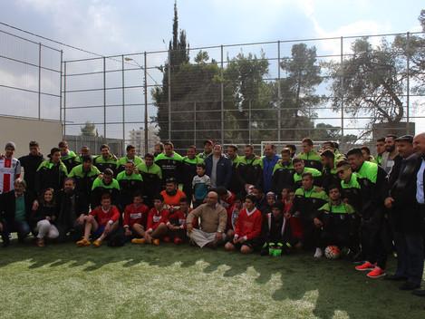 Chilean Palestino Deportivo Club Visits Hope school