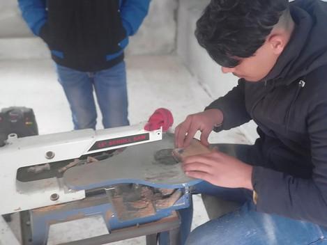 Start up workshop: Simon's Olive wood Workshop