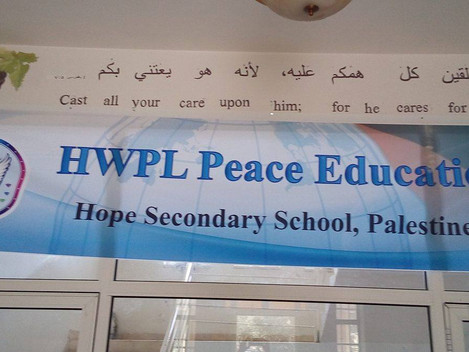 Peace Education at Hope School