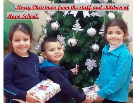 Merry Christmas from Hope School