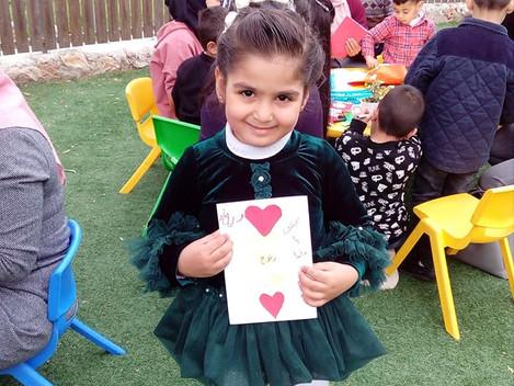 Mother Day at the school Kindergarten