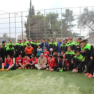 Visit from Club Deportivo