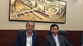 中国上海市対外労務合作服務平台の章勇徳副主任が本NPOを訪問されました