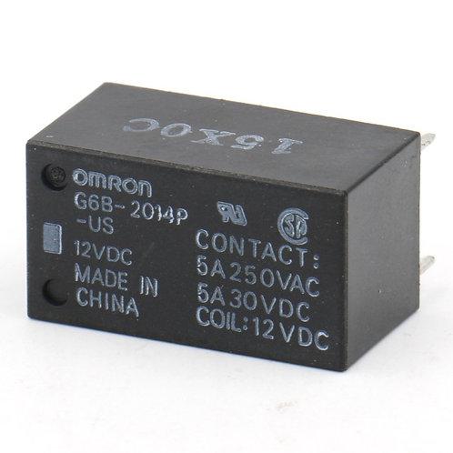 G6B-2014P-US DC12 Relay; E-Mech; Power; SPST-NO; Cur-Rtg 5A; Ctrl-V 12DC;
