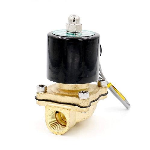 Heschen 1/2 pouce en laiton Électrovanne Électrique Air Eau Fuels N / C Valve DC