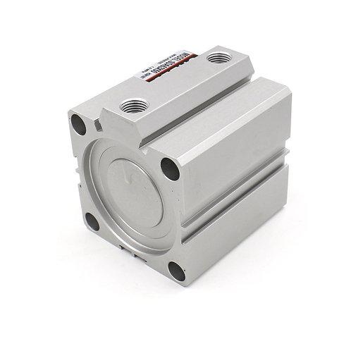 Cilindro de aire fino compacto Heschen SDA 63x50 63mm Diámetro 50mm Carrera PT1