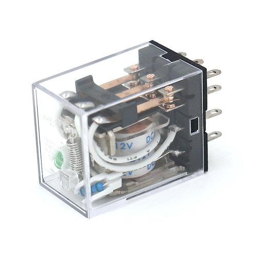 General Purpose Power Relay HH53P DC 12V Coil LED Indicator 11 pin terminal