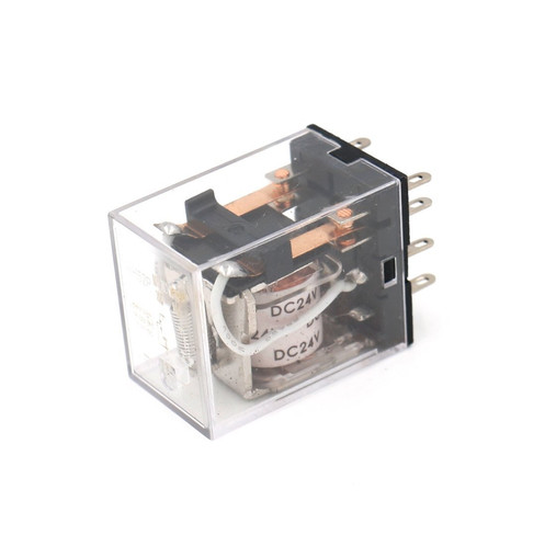 General Purpose Power Relay HH52P DC 24V Coil 8 pin terminal on