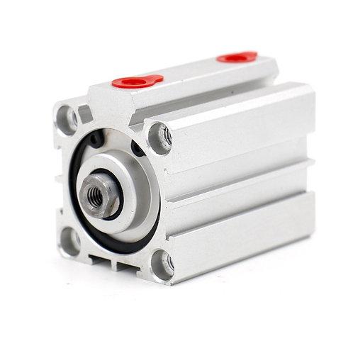 Baomain Compact Thin Air Cylinder SDA 32x30 32mm Bore 30mm Stroke PT1/8 port