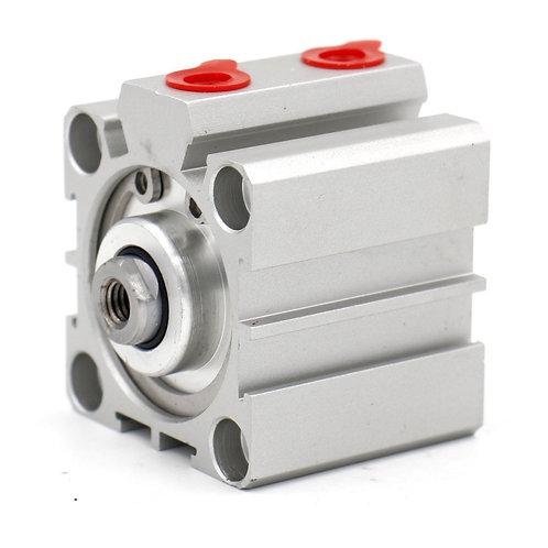 Cilindro pneumatico compatto Heschen SDA 32x25 32mm Alesaggio 25mm Corsa PT1 / 8
