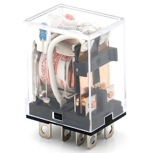 Borne à 8 broches de l'indicateur LED 220V de bobine à usage général du relais J