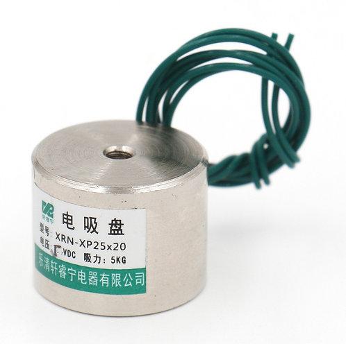 Aimant de levage de force du solénoïde P 25X20 11LB / 5kg d'électroaimant Hesche