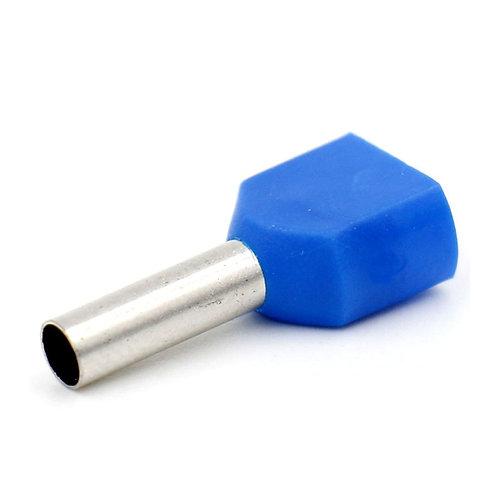 Heschen Wire Cuivre Sertissage Double Embout Pin Ferrule Extrémité Cordon Bleu 1