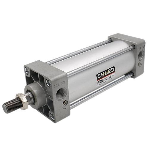 Baomain Pneumatic Air Cylinder SC 63 X 125 PT3/8 Screwed Piston Rod Dual Action
