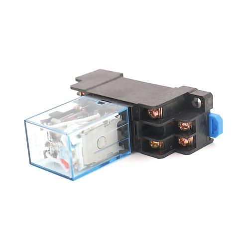 Universal-Leistungsrelais MY2NJ AC 36V Spule LED-Anzeige 8-poliger Anschluss