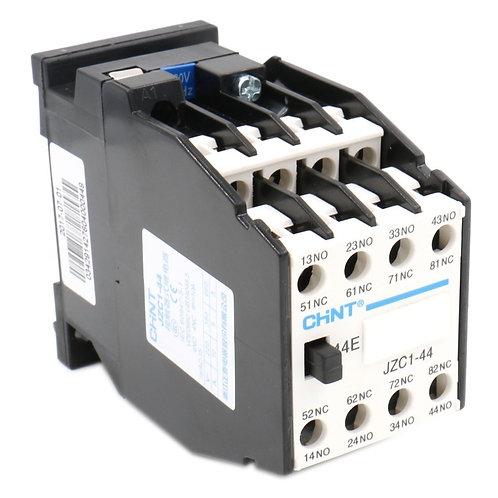 Baomain AC Contactor JZC1-44 220V/264V Coil 3 Phase 3 Pole 4NO 4NC