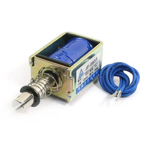 Heschen Solenoid Electromagnet JF-0837 DC 12V 200g Push Pull Linear Actuator