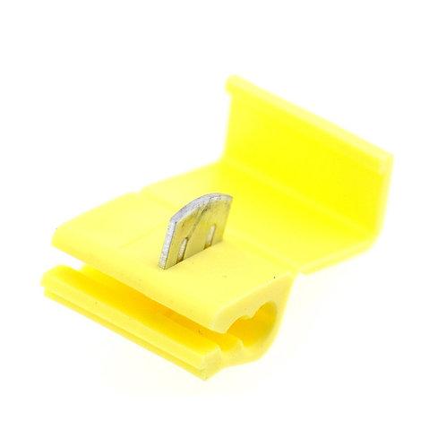 Heschen Solderless Wire Quick Splice Connector Yellow- 12-10 Gauge - 50 Pack
