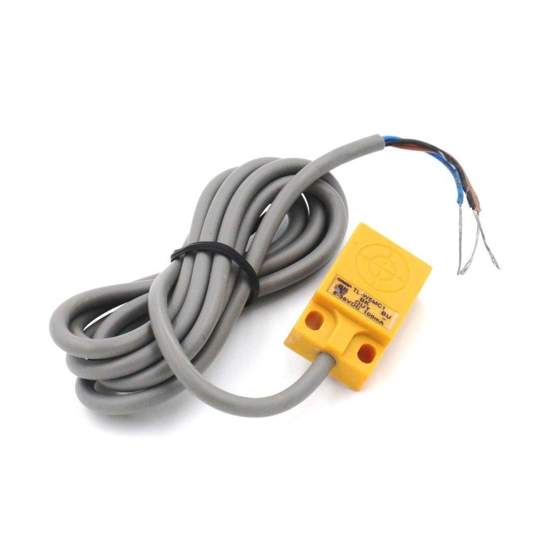 TL-W5MC1 5mm 3 Wire Inductive Proximity Sensor Detection Switch NPN DC 6-36V