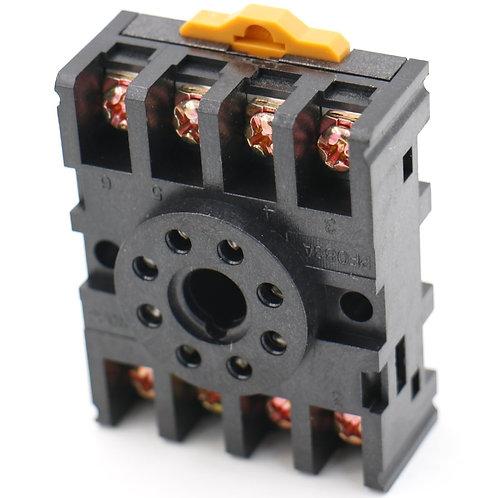 Power Timer Relais Sockel Basis Halter PF083A für JTX-2C 8 Pin 5 Pack