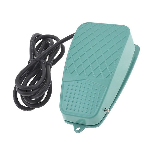Heschen SPDT NO NC Nonslip Plastic Momentary Power Pedal Foot Switch TFS-3