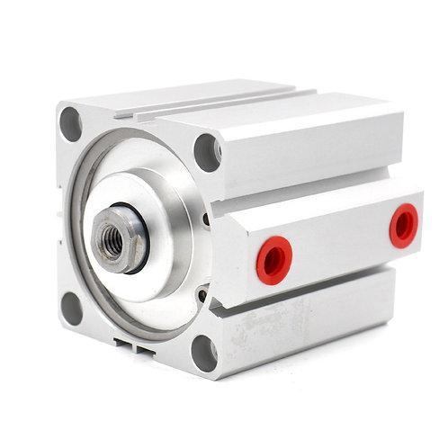 Heschen Kompakte dünne Zylinder SDA 63x45 63mm Bohrung 45mm Hub PT1 / 4 Port