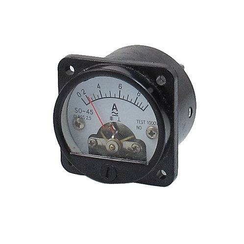 Misuratore di pannello analogico rotondo AC 0-10A di classe 2.5 Precisione Amper