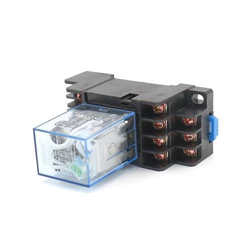 Borne 28VD de la borne 14VD de l'indicateur LED de bobine du courant continu DC4