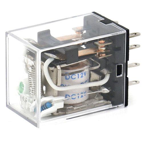 Relè di potenza per uso generico HH52P DC 12V Indicatore LED a bobina Terminale