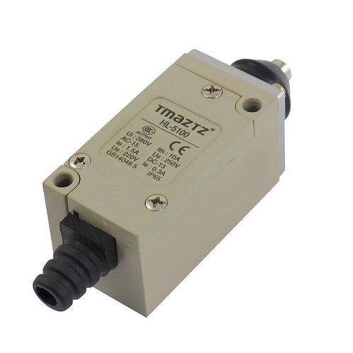 Heschen Interrupteur de fin de course HL-5100 Poussoir court instantané 380V 10A