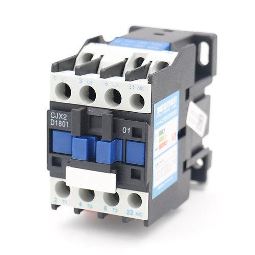 Controler AC Contactor CJX2-1801 24V Bobina 3P 3 Polo Normalmente cerrado 660V 3