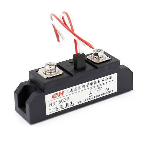 Heschen Halbleiterrelais H3150ZF 3-32VDC 380VAC 150A DC zu AC mit LED Indicato