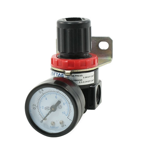 "Baomain Pneumatic Regulator AR2000 Model 1/4""PT Mounting Adjustable Pressure"
