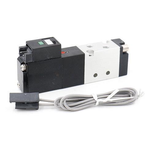 Heschen Pneumatic Solenoid Valve 110-4E1-PSL DC 24V 5 Way 2 Position 4mm