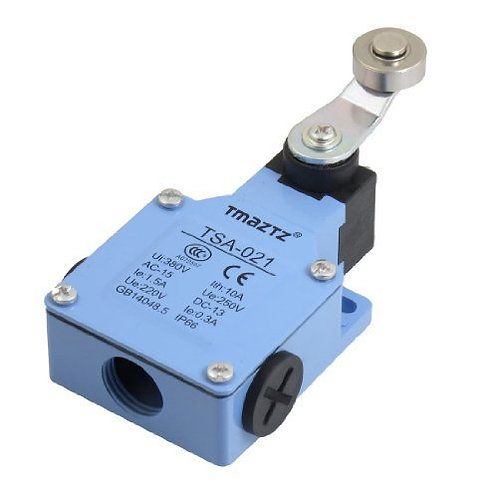 Limit switch TSA-021 Momentary Roller Lever Actuator AC 250V 1.5A DC 220V 0.3A
