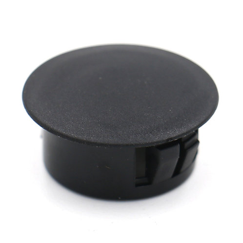 "Plastic Black Locking Hole Plugs Panel Hole Diameter 3/4"" (19mm) 100 Pack"