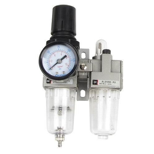 Heschen Air Source Treatment AC2010-02 Régulateur de filtre pneumatique 0,05-0,8