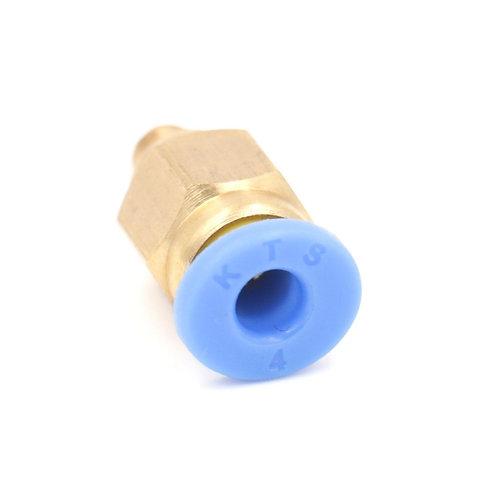 Raccords Pneumatiques Heschen Tube PC4-M5 4mm à Connecteur Droit 5mm Mâle