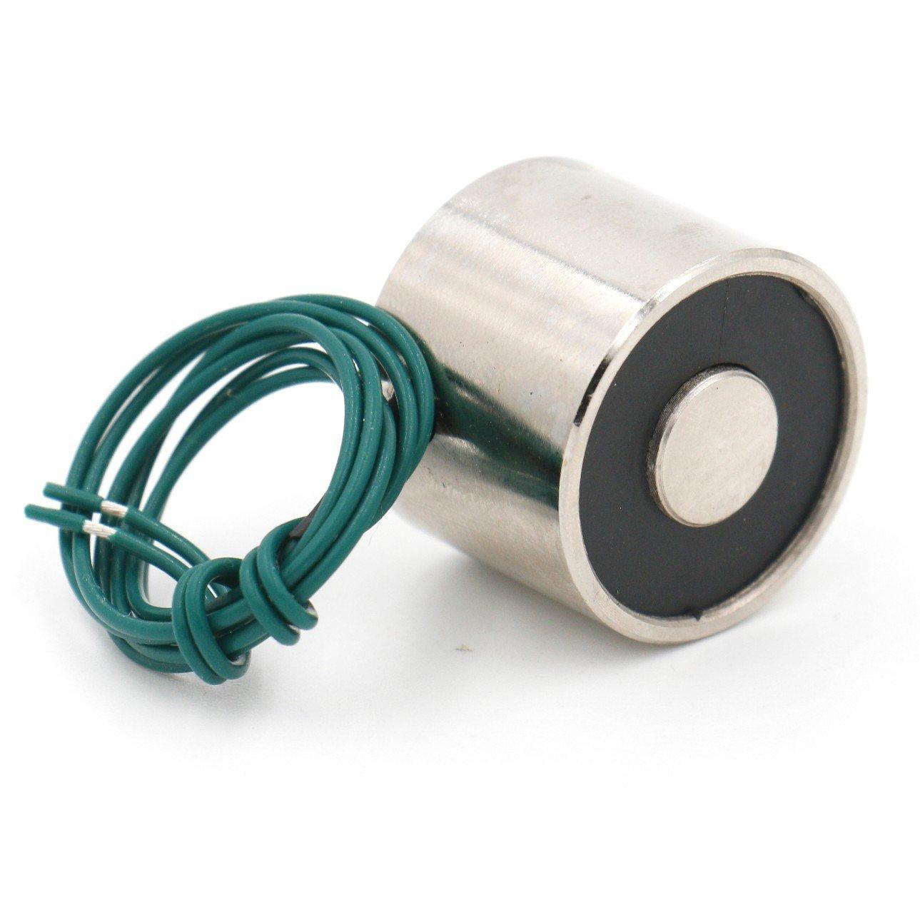 approx. 24.95 kg 55 lb 25 kg DC 12 V electromagnética eléctrica de imán de elevación 250 N