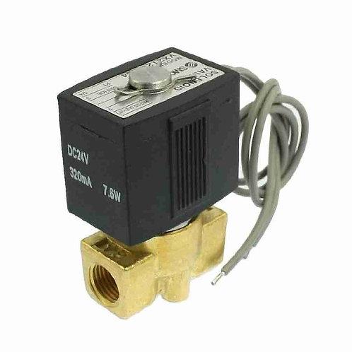 """Válvula de solenoide Heschen VX2120-X64 1/4 """"interruptor de dos vías DC 24V 320m"""