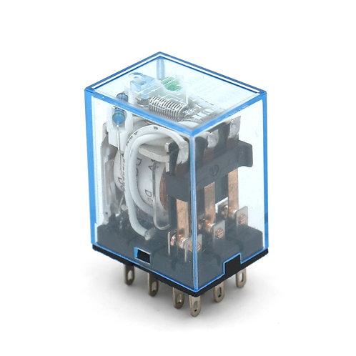 Relè di potenza per uso generale MY3NJ DC 6V Indicatore LED a bobina Terminale a