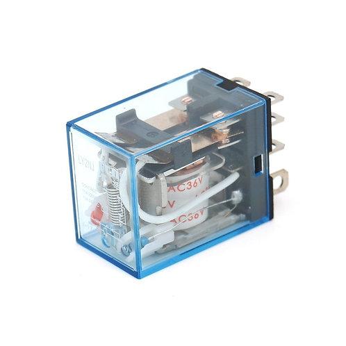 Heschen relais de puissance à usage général LY2NJ AC 36V bobine LED indicateur 8