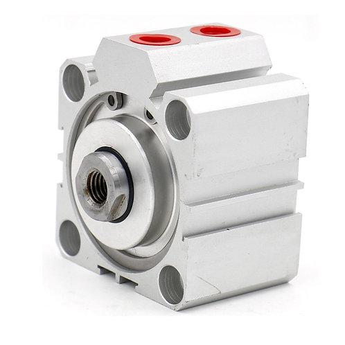 Heschen Compact Thin Air Cylinder SDA 50x20 50mm Bore 20mm Stroke PT1/4 port