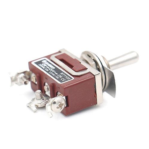 RT1122 SPDT ON-OFF-ON 3 Position 3 Schraubklemmen AC 15A / 250V 20A / 125V