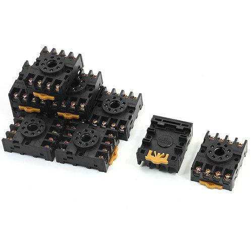 Support de base de support de relais de minuterie PF083A pour JTX-2C DH48S 8 bro