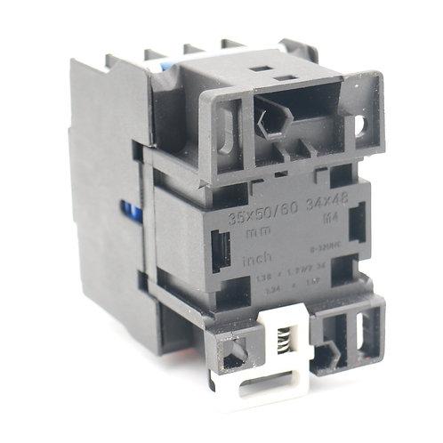 Heschen AC Contacteur CJX2-1810 24V bobine normalement ouverte 3 pôles 32A