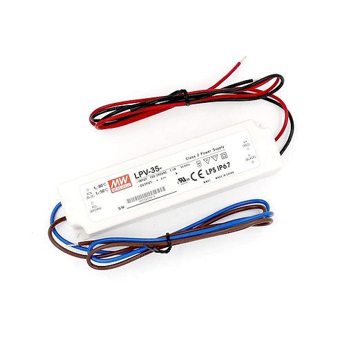 Heschen Meanwell power supply LPV 35-24 24V 35W 1.5A UL TUV